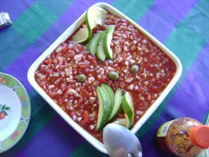 Ceviche, Zihuatanejo style. Start with fresh fish (see above), then Google the recipe. It's too long to write down here.