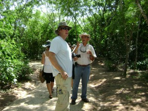 Pedro Mendizabal explains the finer points of nature conservation.
