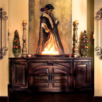 Spanish colonial style a path to the past mexico premiere - Spanish style home decor ...